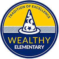 Wealthy Elementary logo
